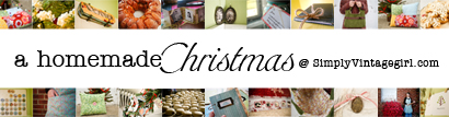 A Homemade Christmas at SimplyVintagegirl.com