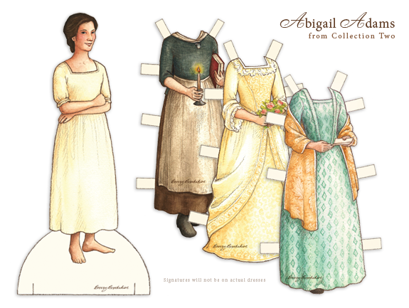 Doll Sample with Dresses