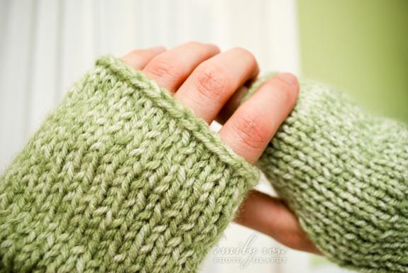 Simply Vintagegirl A Homemade Christmas 1 Knitted Fingerless Mittens