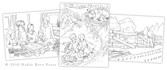 The Family Treasure Coloring Book