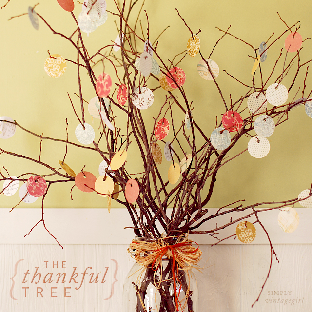 The Original Thankful Tree